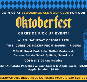 Catering with Elegance Oktoberfest Curbside Pickup Event